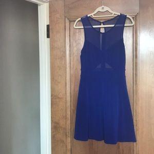 Blue Sorority formal dress